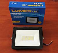 Прожектор світлодіодний LUMEN LED 50W ultra, фото 1