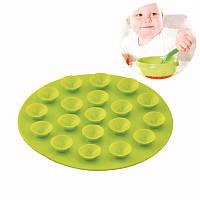Силиконовая подставка для посуды с присосками, фото 1