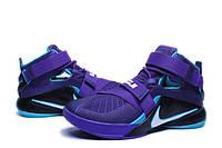 Баскетбольные кроссовки Nike Soldier 9 violet