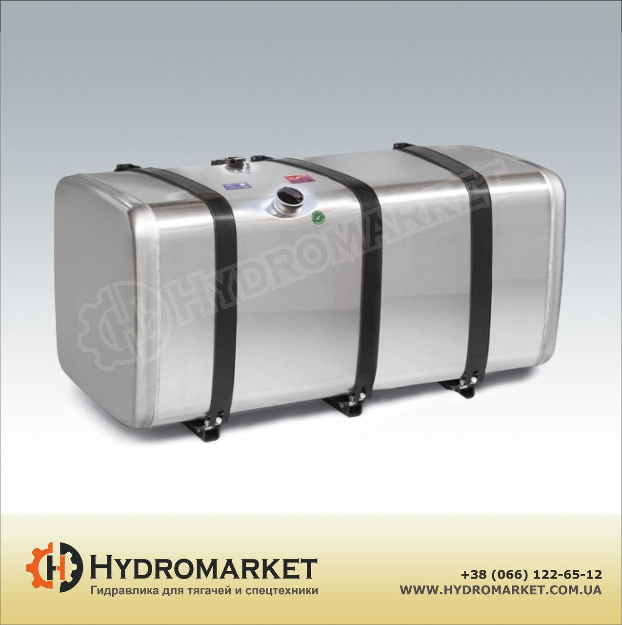 Алюминиевый топливный бак 850л (620х670х2150)