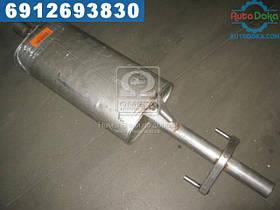 ⭐⭐⭐⭐⭐ Глушитель центральный VW,MERCEDES (производство  Polmostrow)  30.232