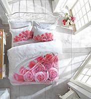3D Цветной комплект постельного белья Cotton Box, евро Darling