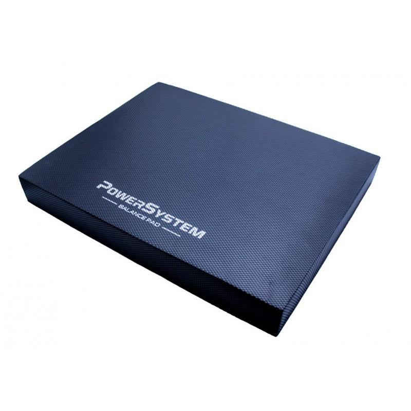 Мат балансувальний тренажер для рівноваги (платформа) Power System PS-4066 Balance Pad Physio Black