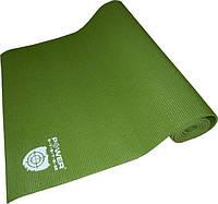 Фитнес коврик для йоги и фитнеса зелёный Power System PS-4014 FITNESS-YOGA MAT Green