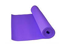 Фитнес коврик для йоги и фитнеса фиолетовый Power System PS-4014 FITNESS-YOGA MAT Purple