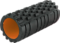 Валик для спины роллер массажный Power System Fitness Foam Roller PS-4050 Black/Orange