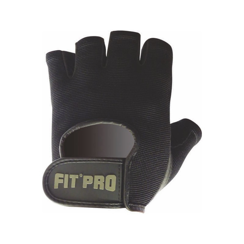Рукавички для фітнесу і важкої атлетики Power System FP-07 B1 Pro XL Black