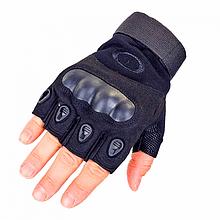 Рукавички без пальців тактичні Oakley (р. XL), чорні