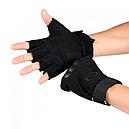 Рукавички без пальців тактичні Oakley (р. XL), чорні, фото 3