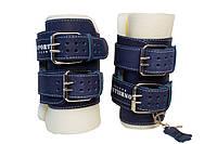 Гравітаційні (інверсійні) черевики NEW AGE OS-0305, до 130 кг (синій)