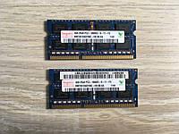 Оперативная память Hynix DDR3 8Gb (Kit of 2x4Gb)для ноутбука 8 Гб 1.5v SoDIMM  PC3-10600S 8192MB 1333Mhz ДДР3