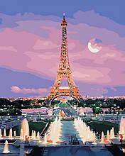 """Картина по номерам. Brushme """"Парижский вечер"""" GX29484"""