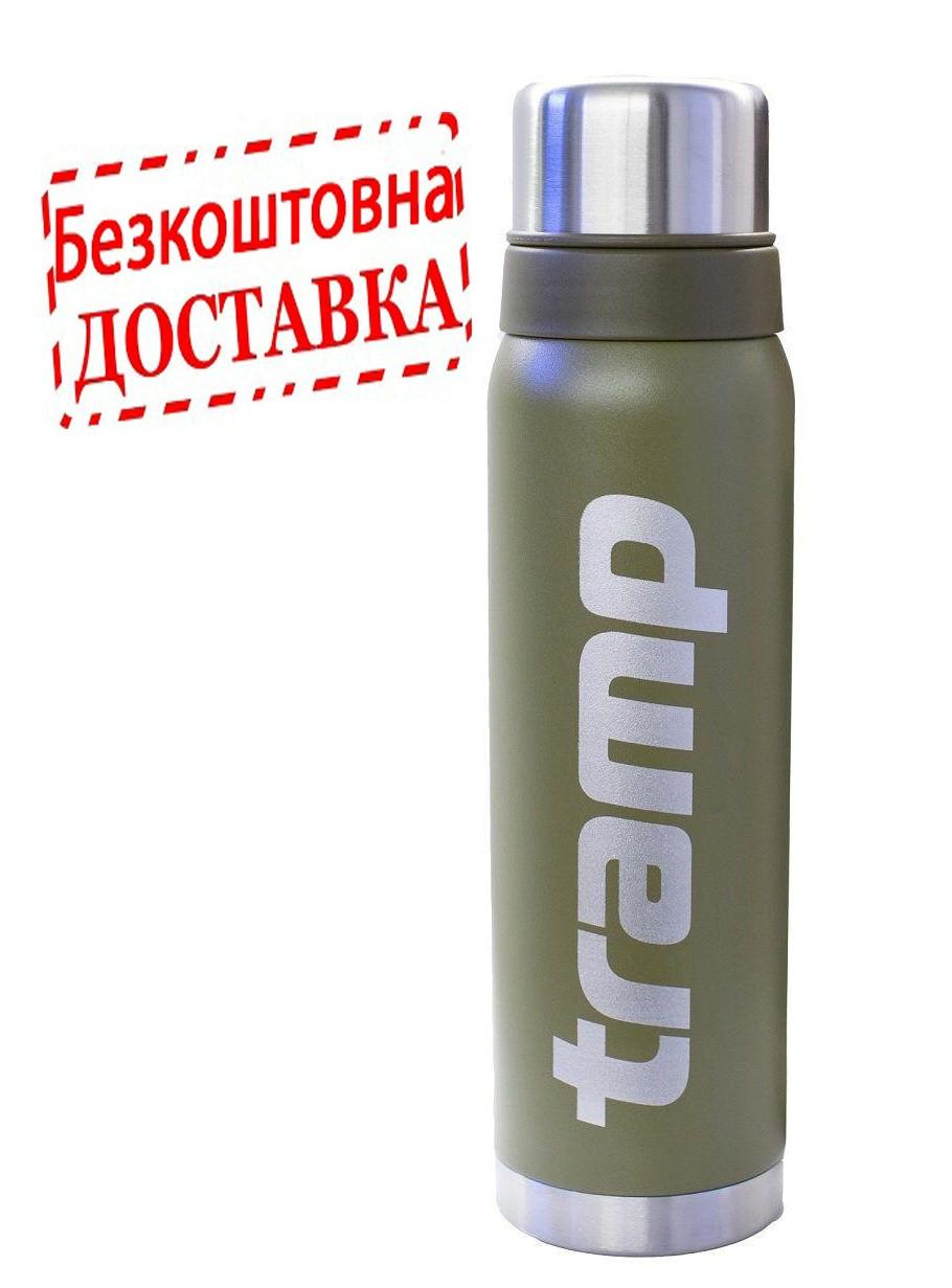 Оригинальный термос Tramp TRC-031 объем 0,75 л. оливковый