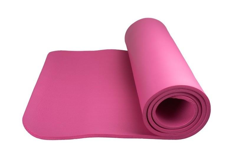 Фитнес  коврик для йоги и фитнеса Power System  PS-4017 FITNESS-YOGA MAT Pink