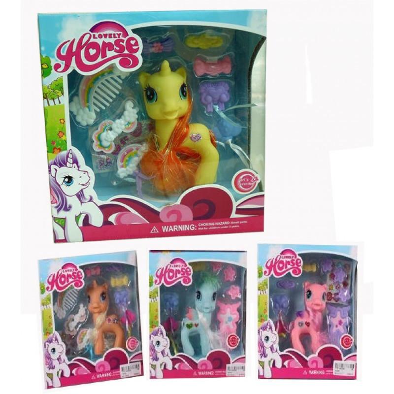 Детская игрушка Пони 1235A с аксессуарами
