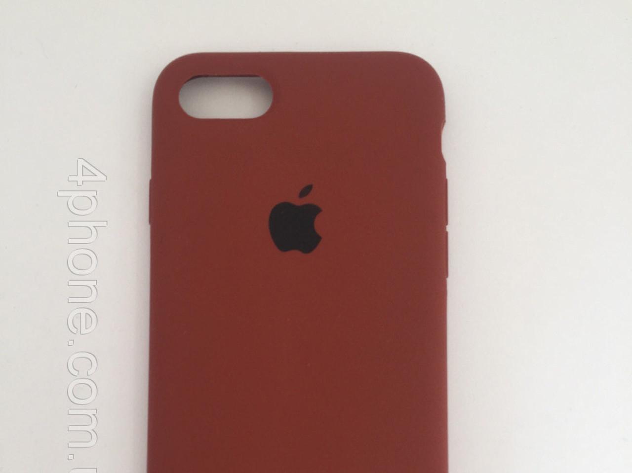 "Чехол - Silicon Case для iPhone ""Шоколад - №70"""