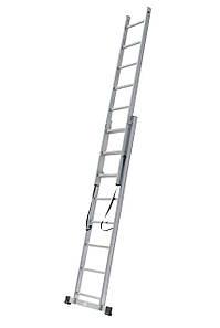 Лестница алюминиевая, 2 секцонный 7 ступей, 2х7