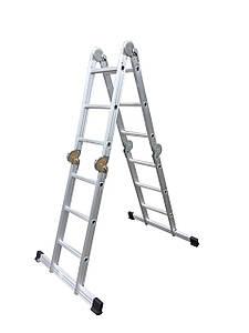 Мультифункциональная (Трансформер)  алюминиевая лестница 4х3