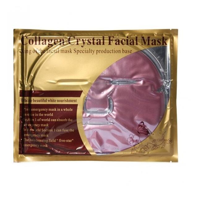 маска коллагеновая розовая увлажняющие для лица
