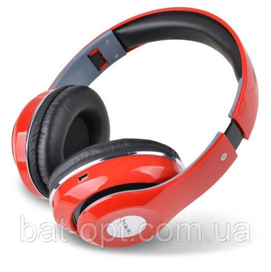 Беспроводные наушники Bluetooth Havit HV-H2561BT с микрофоном красные