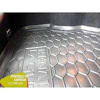 Авто коврик в багажник Renault Laguna / Рено Лагуна 3 2007+ Универсал / Combi / Universal ( С УШАМИ )