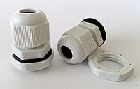 Кабельные гланды герметичный ввод IP68/54 для кабеля гермоввод для щитка с контргайкой и резиновой прокладкой