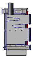 Твердотопливный котел Gratis-Flame GF-A20У, фото 1