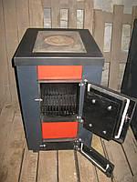Котел твердотопливный с варочной плитой Gratis-Flame GF-К15 кВт.