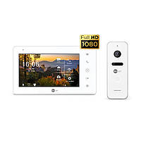Комплект видеодомофона Neolight NeoKIT Pro White, фото 1