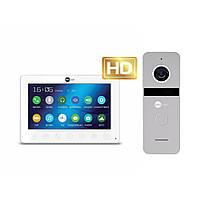 Комплект відеодомофона Neolight OMEGA+ HD / Solo FHD Silver, фото 1