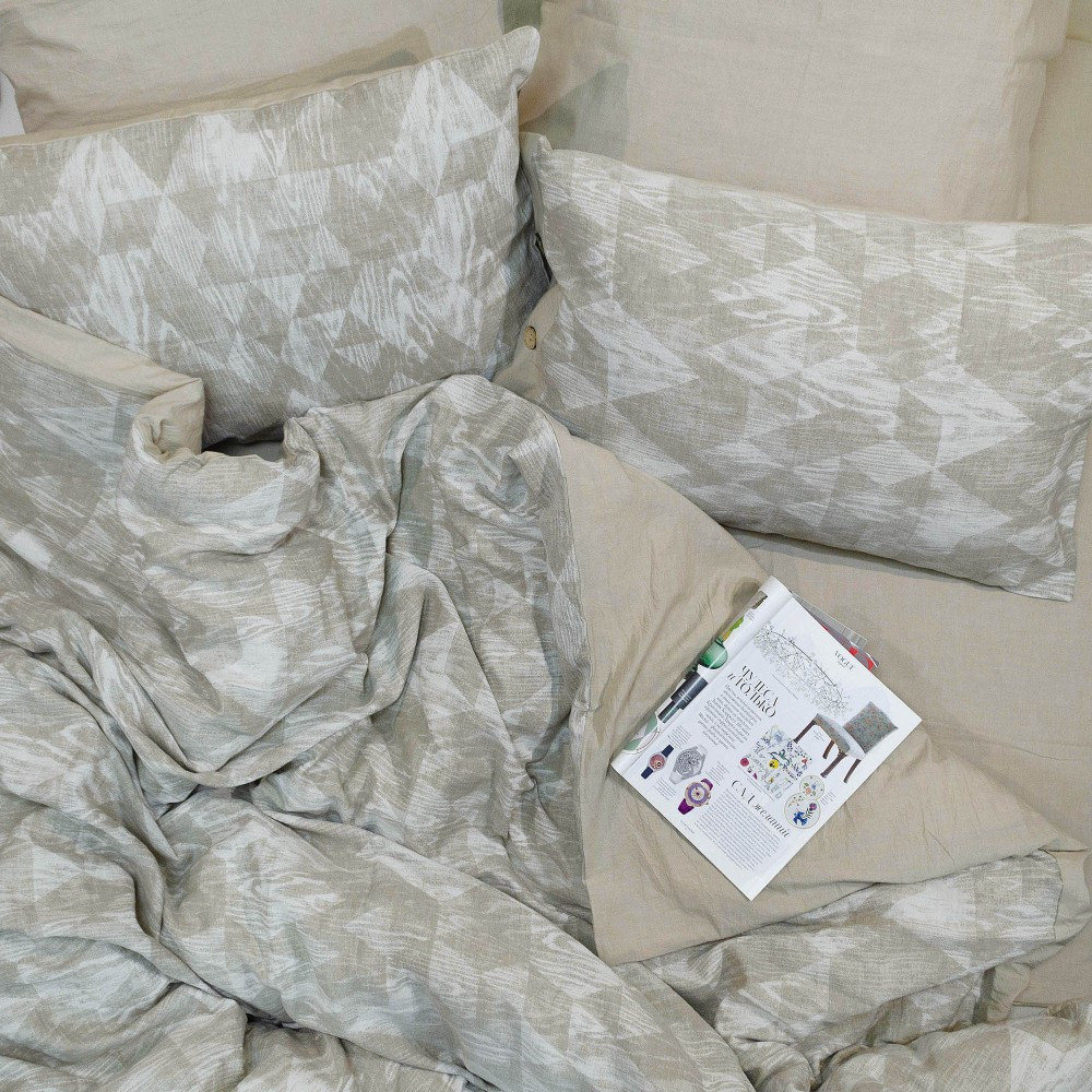 Постельное белье Tiare Вареный Хлопок Жаккард 025 (Евро) 200х220