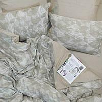 Постельное белье Tiare Вареный Хлопок Жаккард 025 (Евро) 200х220, фото 1