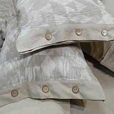 Постельное белье Tiare Вареный Хлопок Жаккард 025 (Евро) 200х220, фото 3
