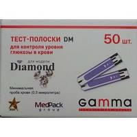 Тест-полоски Гамма DM (Gamma DM) - 25 шт.