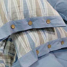 Постельное белье Tiare Вареный Хлопок Жаккард 027 (Евро) 200х220, фото 2