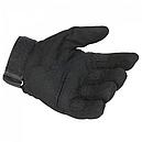 Рукавиці тактичні Oakley (р. M), чорні, фото 3