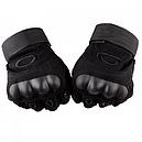 Перчатки тактические Oakley (р.M), черные, фото 4