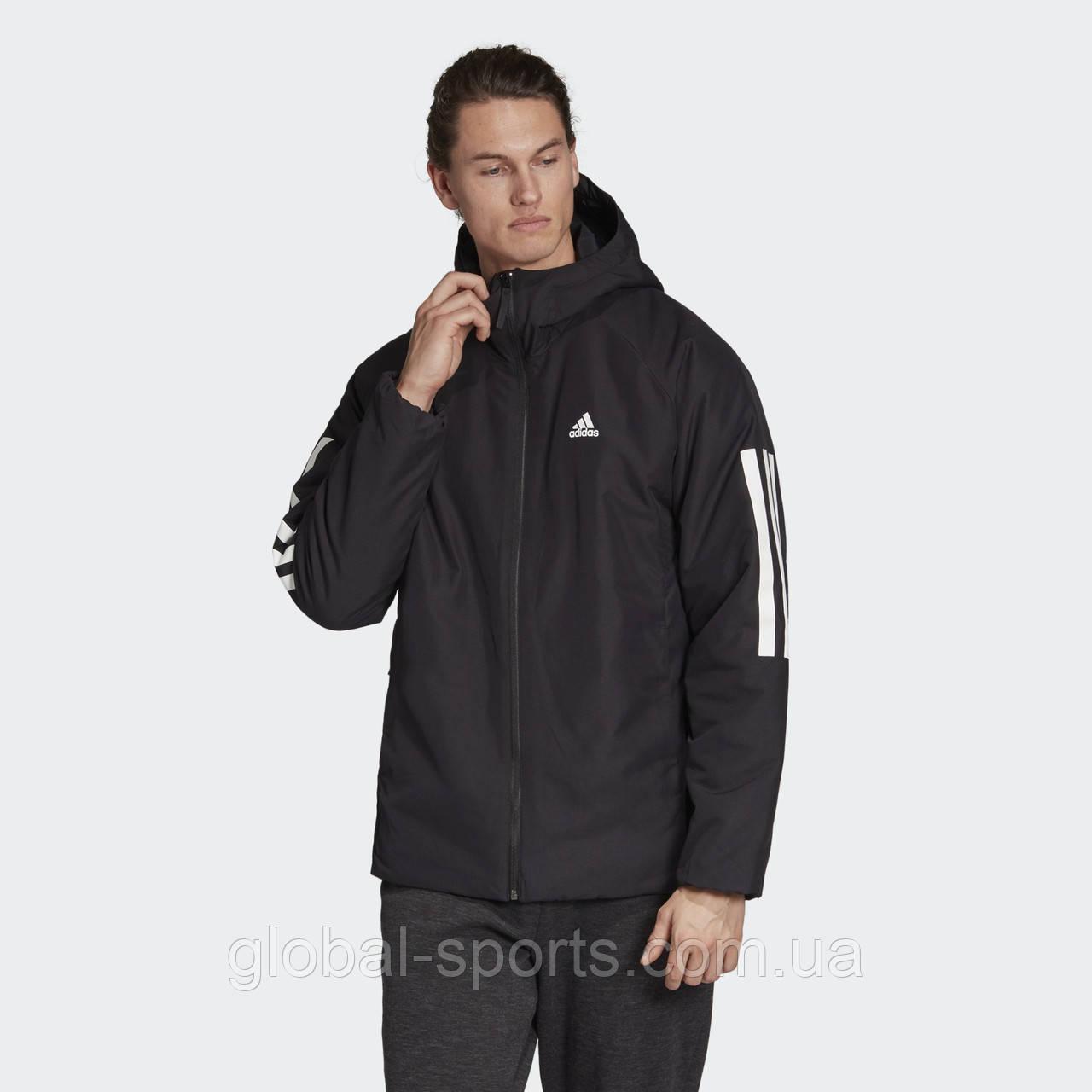 Мужская куртка Adidas Back-to-Sports 3-Stripes(Артикул:DZ1403)