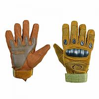 Перчатки тактические Oakley (р.M), койот