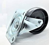 Поворотное колесо из технополимера 100х36 мм термостойкое
