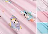"""Лоскут сатина """"Собачка в транспорте"""" на розовом № 2196с, размер 63*70 см, фото 2"""
