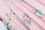 """Лоскут сатина """"Собачка в транспорте"""" на розовом № 2196с, размер 63*70 см, фото 6"""