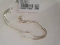 Цепочка серебряная с плетением Ромб, фото 1