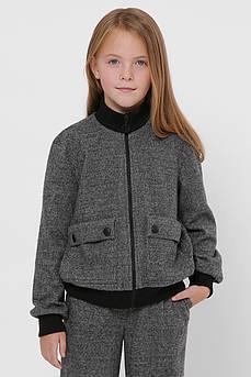 Бомбер детский Татьяна Филатова модель 250  серый