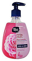 Жидкое мыло Teo Tete-a-tete Milk rich Pure Camellia - 400 мл.