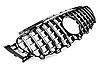 Решетка радиатора тюнинг Mercedes E W213 стиль AMG GT R (хром полоски), фото 8