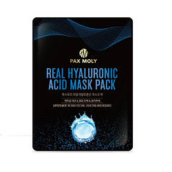 Зволожуюча тканинна маска з гіалуроновою кислотою Pax Moly Real Hyaluronic аcid mask pack
