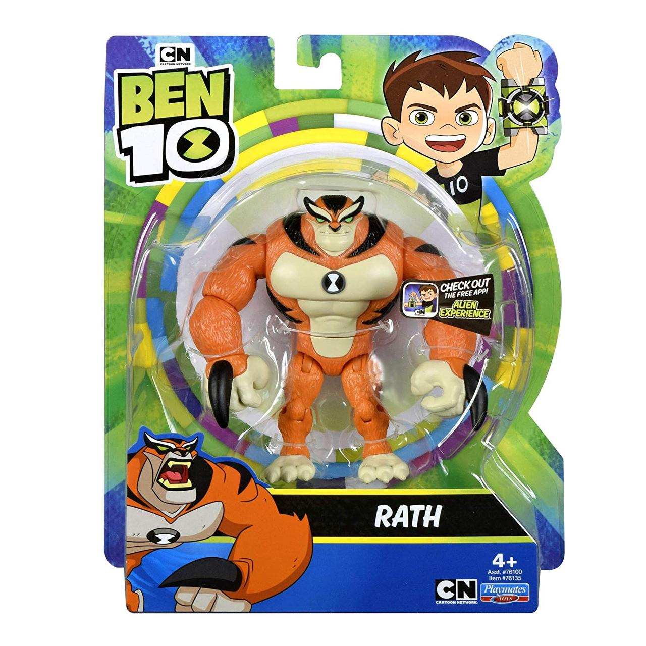 Фигурка  Бен 10 Рат - кот / Ben 10 Rath Аппоплексианец оригинал США