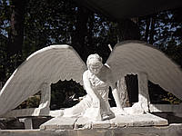Скульптура ангела из мрамора  №71