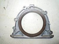 Крышка заднего сальника коленвалаNissan Almera N16  Primera P11 P12 2000-2006г.в. 1.5, 1.6, 1.8